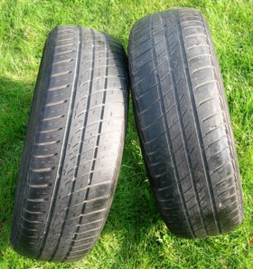 2 штуки 185/65 R14 Barum Brillantis-2 летние