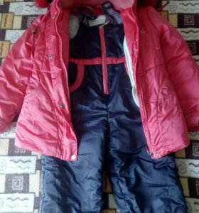 Зимний костюм:куртка+комбенизон