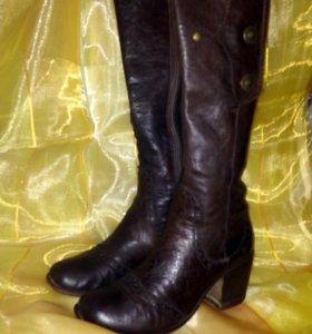 Сапоги демисезон,кожа,Италия, 36 размер