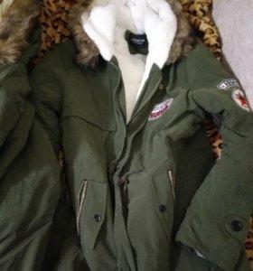 Куртка парка 2 шт М и 4хl