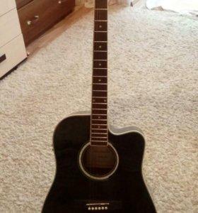 NarandaDG220CE-BK Акустическая гитара со звукосни