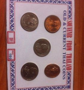 Монеты Тайланда