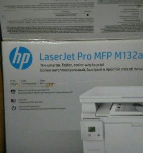 Принтер hp LaserJet Pro MFP M132a