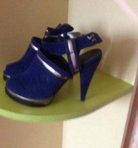 туфли замшевые размер 36