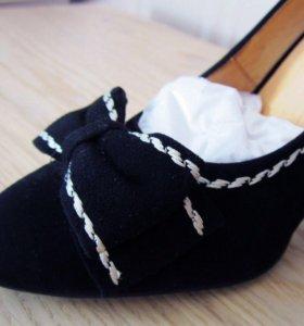 Замшевые туфли Stoalos