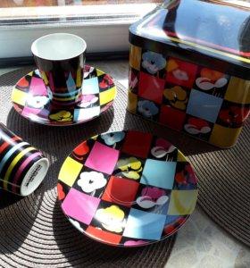 Кофейный набор подарочный фарфор