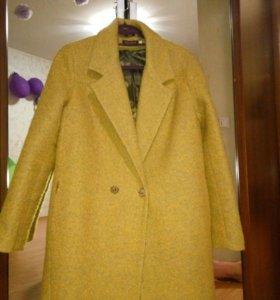 Пальто демисезонное размер 46-48