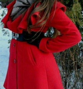 Пальто кашемировое р-р 44