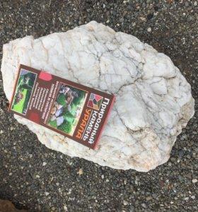 Ландшафтный камень Кварц (белый)