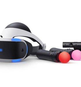 PlayStation VR, камера и мувы