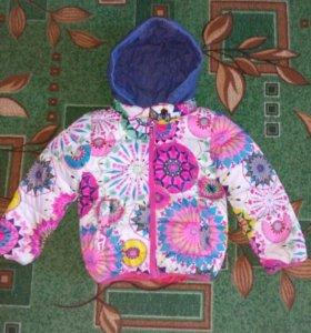 Куртка для девочки(3-4года)