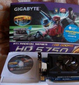 Видеокарта Gigabyte HD 5750 ATI Radeon Series
