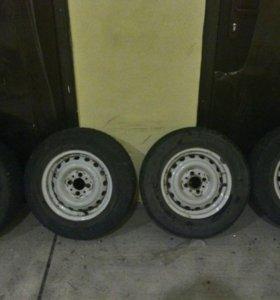 Комплект зимних колес ВАЗ R13 4*98