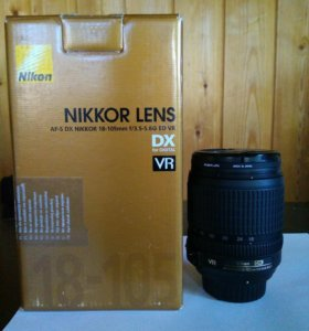 Объектив Nikon AF-S DX 18-105 mm ED VR
