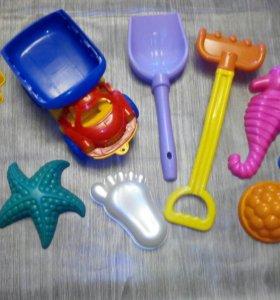 Игрушки для песочницы. Формочки.
