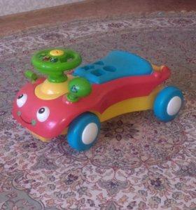 Машинка- каталка-ходунки