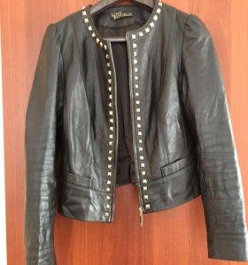 Кожанная куртка натуральная 44 р