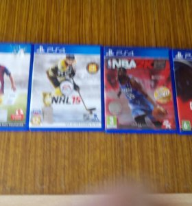 Диски. PS4