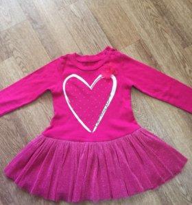 Платье на девочку 2 года