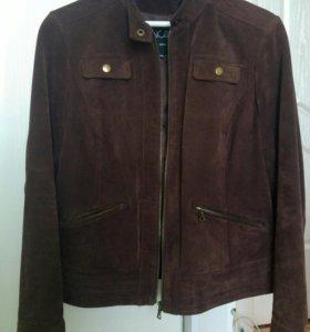 Куртка замшевая 48 размера