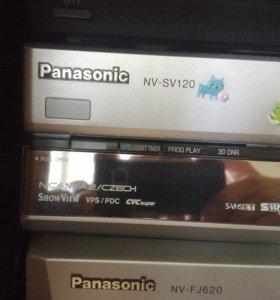 S-VHS Видеомагнитофон Panasonic NV-SV 120 svhs-ET