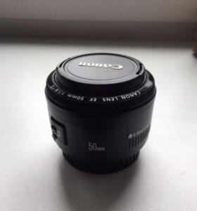 Canon EF 50 mm 1.8 II