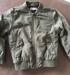 Куртка на мальчика бомбер