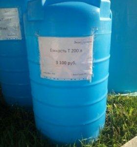 Емкость для воды Т 200 литров