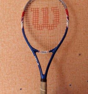 Ракетка для большого тенниса детская willson с чех