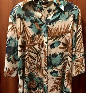 Блуза из шифона женская