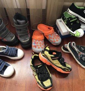 8 пар. Обувь на мальчика