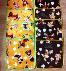 Кармашки для детского сада на шкафчик