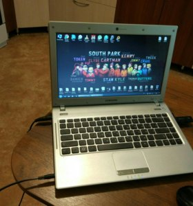 Игровой ноутбук Samsung Q330, intel i3, озу 4гб