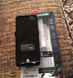 Чехол зарядка iPhone 5/5s/5c