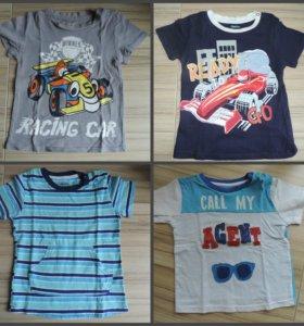 Фирменные вещички на мальчика от 1-2 лет