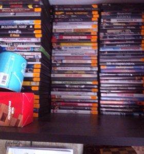 Очень много DVDдисков