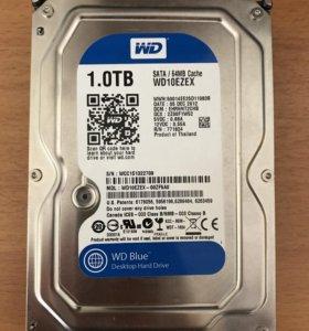 Жесткий диск HDD WD10ezex 1000 Gb