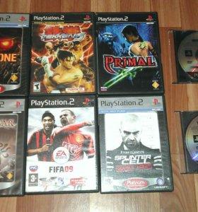 Продам или поменяю лицензионные диски PS2