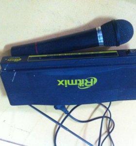 приставка с радиомикрофонами