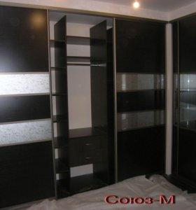 Встроенные шкафы купе изготовление на заказ