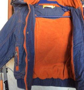 Куртка р 98 на флисе