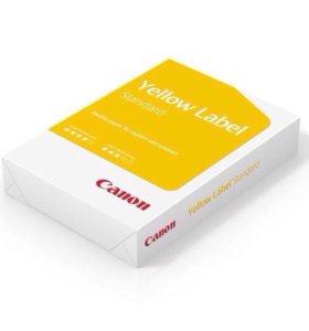 Бумага (с доставкой)А4 Canon Yellow Label