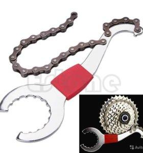 Хлыст для снятия кассеты + ключ для снятие каретки