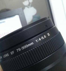 Canon 75-300 f.4-5.6 III