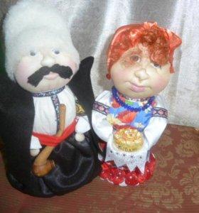 кукла с можжевеловым наполнением