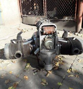 Мотор Урал м72. Рабочий. Ремонт не нужен.
