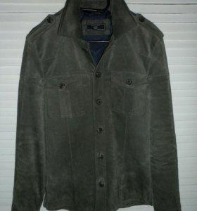 Куртка мужская замшевая Zara