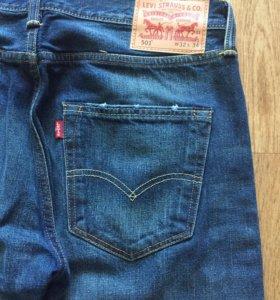 Levi's джинсы 501, 32/34