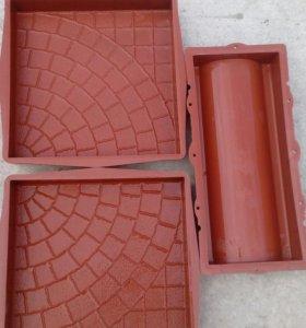 Форма изготовления тратуарной плитки
