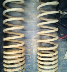 Заниженные пружины SS20 Racing с переменным шагом